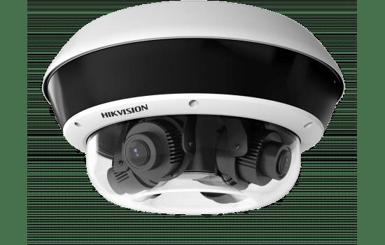 Caméra vidéo-surveillance 4 objectifs
