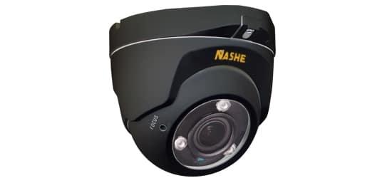 Caméra surveillance dôme noir